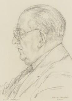 Sir Edward Denison Ross, by Helen McDougall Campbell - NPG 3981