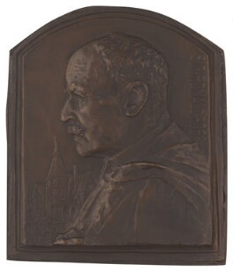 Sir Ronald Ross, by Frank Bowcher - NPG 3646