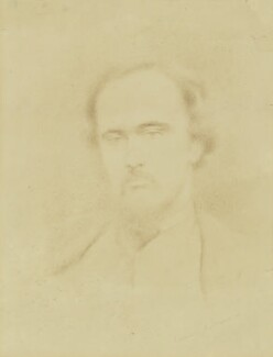 Dante Gabriel Rossetti, by Simeon Solomon,  -NPG 1510 - © National Portrait Gallery, London