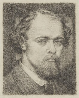 Dante Gabriel Rossetti, by Dante Gabriel Rossetti, circa 1870 -NPG 3033 - © National Portrait Gallery, London