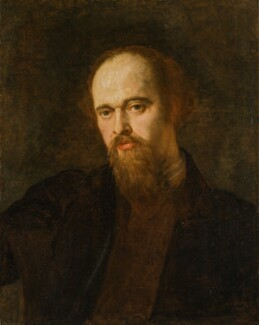 Dante Gabriel Rossetti, by George Frederic Watts, circa 1871 -NPG 1011 - © National Portrait Gallery, London