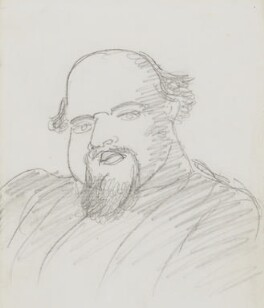Dante Gabriel Rossetti, by Dante Gabriel Rossetti, circa 1875-1880 - NPG 3048 - © National Portrait Gallery, London