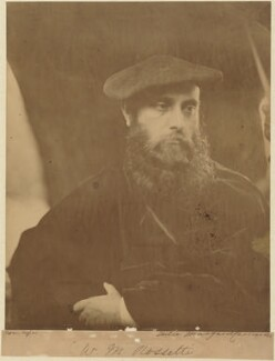 William Michael Rossetti, by Julia Margaret Cameron - NPG P126