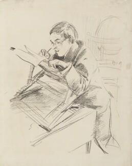 Sir William Rothenstein, by John Singer Sargent, 1897 - NPG 4414 - © National Portrait Gallery, London