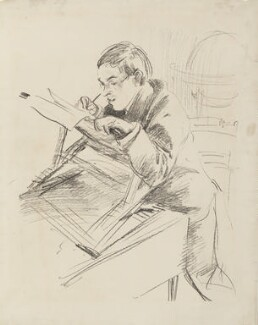William Rothenstein, by John Singer Sargent - NPG 4414
