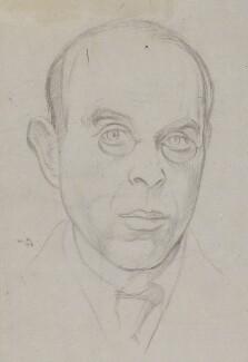William Rothenstein, by William Rothenstein - NPG 4433