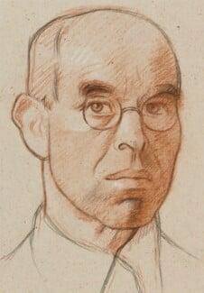 William Rothenstein, by William Rothenstein - NPG 3880