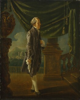 John Ker, 3rd Duke of Roxburghe, by Thomas Patch - NPG 724