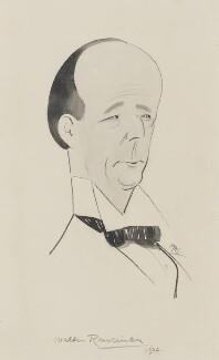Walter Runciman, 1st Viscount Runciman of Doxford, by Matthew Sandford ('Matt') - NPG 5141