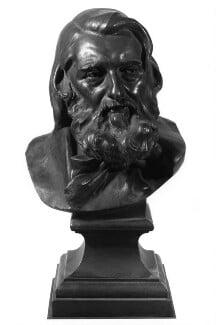 John Ruskin, by Conrad Dressler, 1888 -NPG 2030 - © National Portrait Gallery, London