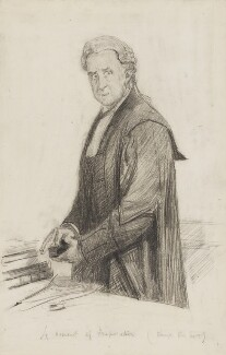 Charles Arthur Russell, Baron Russell of Killowen, by Sydney Prior Hall - NPG 2230