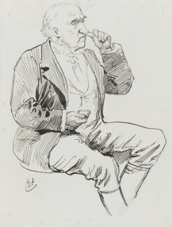 Charles Arthur Russell, Baron Russell of Killowen, by Harry Furniss - NPG 3601