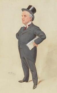 Sir Charles Russell, 1st Bt, by Sir Leslie Ward - NPG 2997