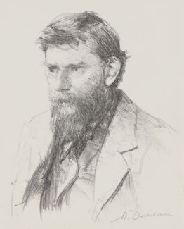 George William Russell, by Mary Duncan - NPG 3980
