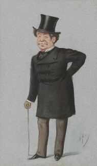 Sir William Howard Russell, by Carlo Pellegrini - NPG 3268