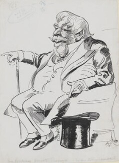 Sir William Howard Russell, by Harry Furniss - NPG 3602