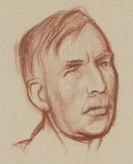 Ernest Rutherford, Baron Rutherford, by William Rothenstein - NPG 4793