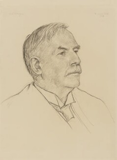 Ernest Rutherford, Baron Rutherford, by Francis Dodd - NPG 4426