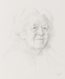 Dame Margaret Rutherford, by Michael Noakes - NPG 4937