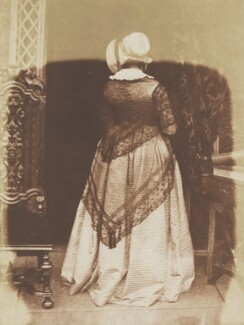 Mary Ruthven (née Campbell), Lady Ruthven, by David Octavius Hill, and  Robert Adamson - NPG P6(114)