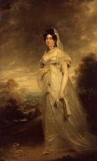 Harriot Beauclerk (née Mellon), Duchess of St Albans, by Sir William Beechey - NPG 1915