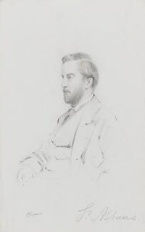 William Amelius Aubrey de Vere Beauclerk, 10th Duke of St Albans, by Frederick Sargent - NPG 1834(aa)