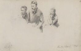 Michael Edward Hicks Beach, 1st Earl St Aldwyn, by Sydney Prior Hall - NPG 2320