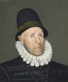 Oliver St John, 1st Baron St John of Bletso, by George Perfect Harding, after  Arnold Bronckorst - NPG 2408