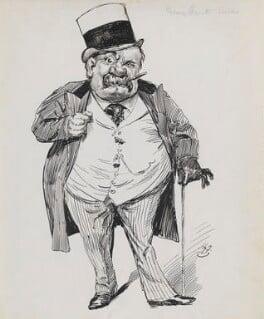 George Augustus Sala, by Harry Furniss, 1880s-1900s - NPG 3507 - © National Portrait Gallery, London