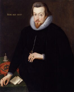 Robert Cecil, 1st Earl of Salisbury, by Unknown artist, after  John De Critz the Elder, 1602 - NPG 107 - © National Portrait Gallery, London