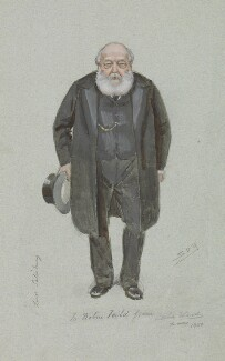 Robert Gascoyne-Cecil, 3rd Marquess of Salisbury, by Sir Leslie Ward, related to drawing published in Vanity Fair 20 December 1900 - NPG 5004 - © National Portrait Gallery, London