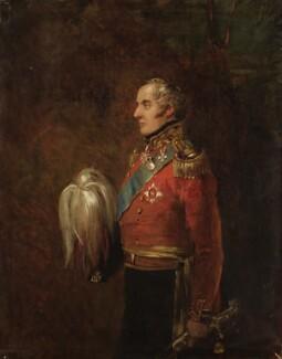 Alexander Fraser, 16th Baron Saltoun, by William Salter - NPG 3750
