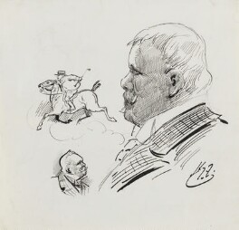 Linley Sambourne, by Harry Furniss - NPG 3509