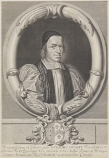 William Sancroft, by David Loggan - NPG 636