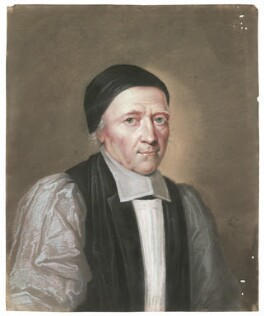 William Sancroft, by Edward Lutterell (Luttrell) - NPG 301