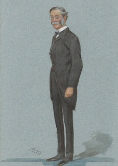 Thomas Henry Sanderson, 1st Baron Sanderson, by Sir Leslie Ward - NPG 2968