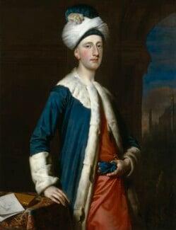 John Montagu, 4th Earl of Sandwich, by Joseph Highmore, 1740 - NPG 1977 - © National Portrait Gallery, London