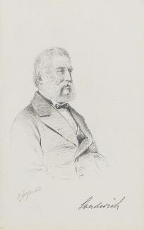 John William Montagu, 7th Earl of Sandwich, by Frederick Sargent - NPG 1834(bb)