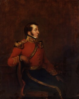 Arthur Moyses William Hill, 2nd Baron Sandys, by William Salter - NPG 3751