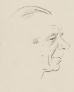 Malcolm Sargent, by Sir David Low - NPG 4529(324)