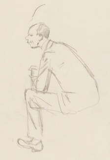 Malcolm Sargent, by Sir David Low - NPG 4529(326)