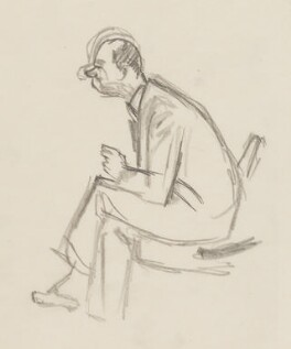 Malcolm Sargent, by Sir David Low - NPG 4529(327)