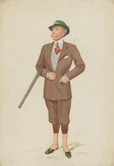 John Lumley-Savile, 2nd Baron Savile, by Sir Leslie Ward - NPG 4608