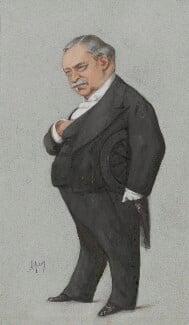 Jean Baptiste Léon Say, by Carlo Pellegrini - NPG 4707(28)