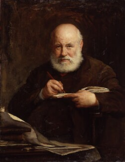 Sir George Scharf, by Walter William Ouless - NPG 985