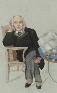 Francis Schnadhorst, by Harold Wright ('Stuff') - NPG 1774a