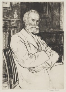 Charles Prestwich Scott, by Francis Dodd - NPG 3997