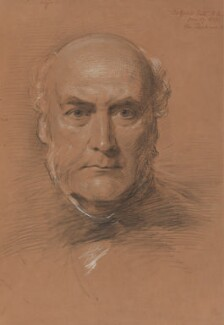 Sir George Gilbert Scott Sr, by George Richmond - NPG 1061