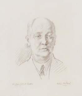 Sir Giles Gilbert Scott, by Robin Craig Guthrie - NPG 4162