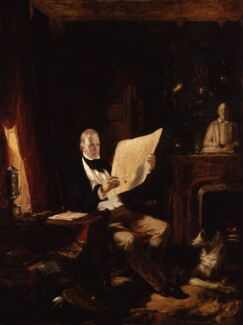 Sir Walter Scott, 1st Bt, by Sir William Allan - NPG 321